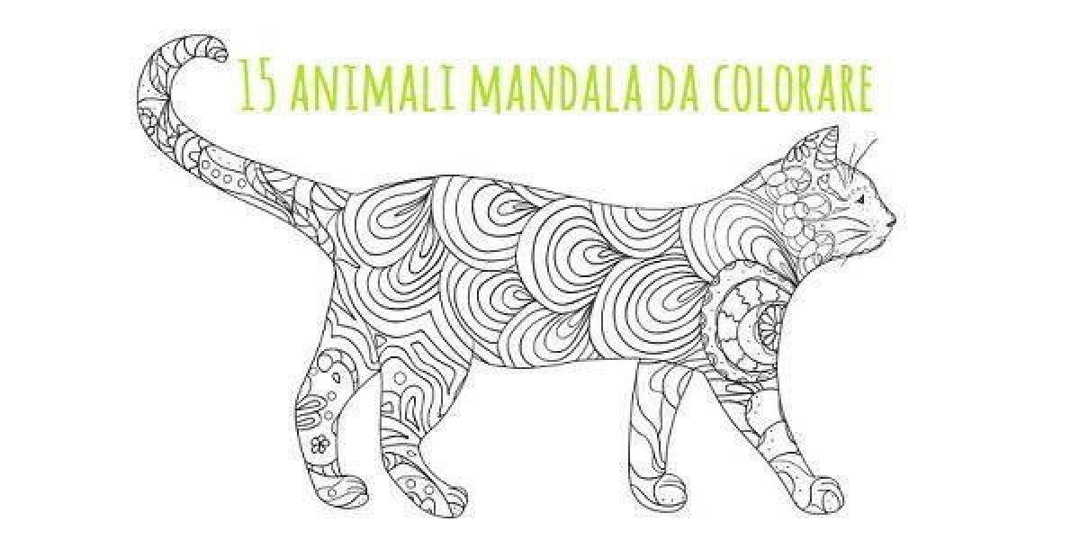 Mandala 15 Animali Da Colorare Scarica Gratis Greenme It