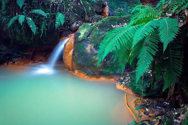 monterano cascata
