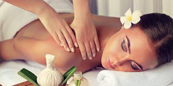 olio cocco massaggio