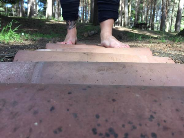 piedi scalzi coppi