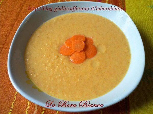 zuppa cipolle carote