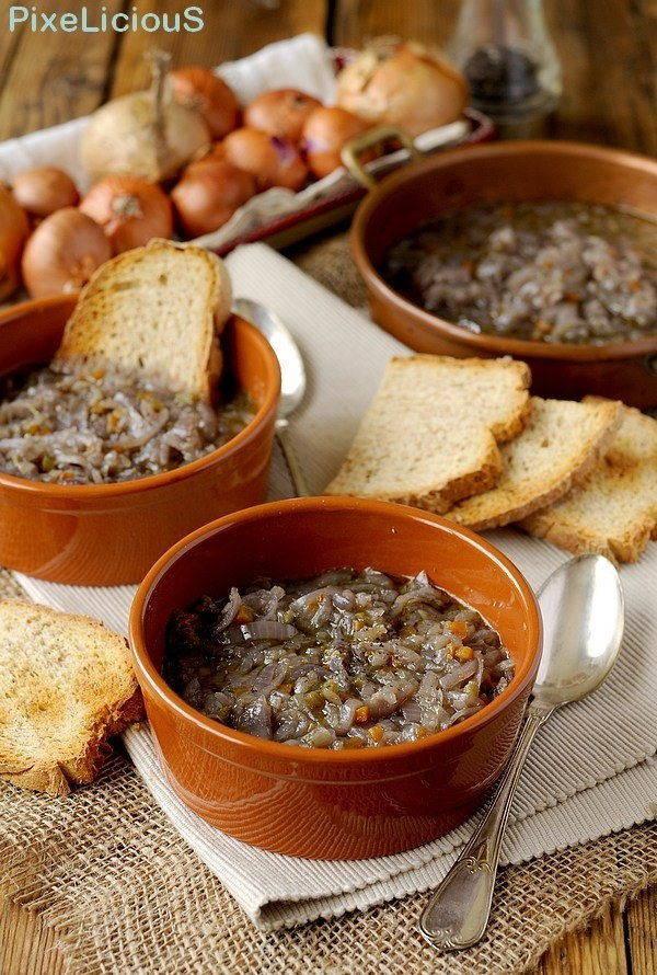 zuppa cipolle toscana