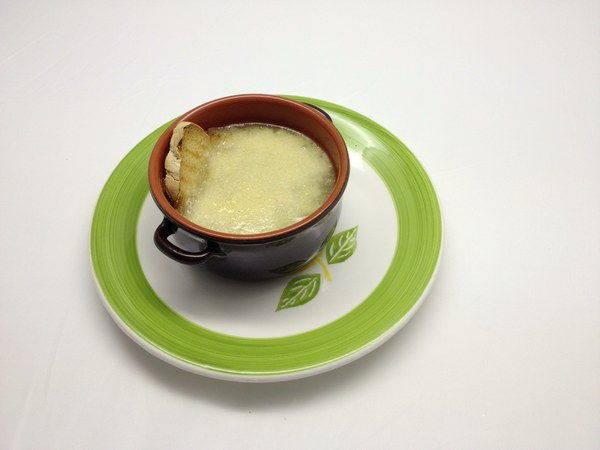 zuppa di cipolle senza glutine