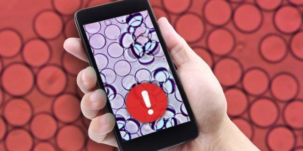 cibo contaminato selfie smartphone