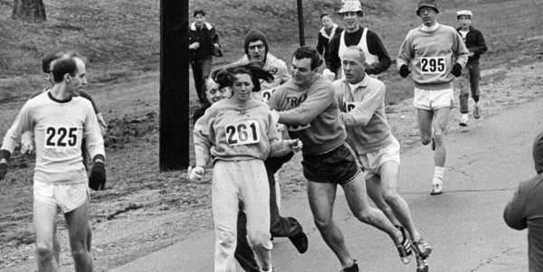 donna maratona boston kathrine switzer