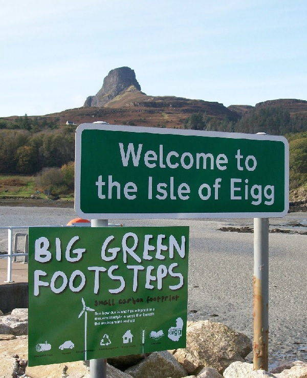eigg welcome