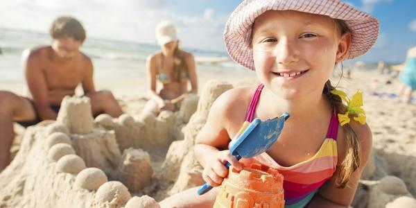 Spiaggia bambini