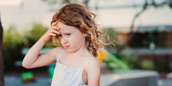 mal di testa bambini