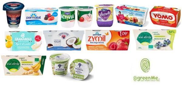 yogurt a confronto
