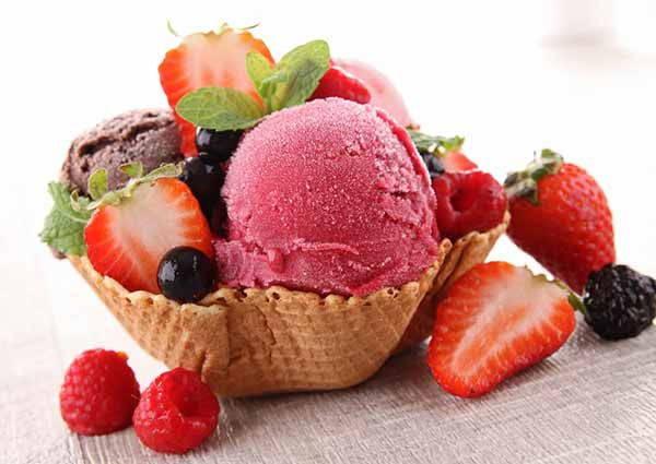 gelato cialda