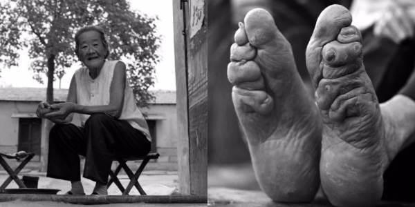 Le ultime donne con i piedi di loto (FOTO)
