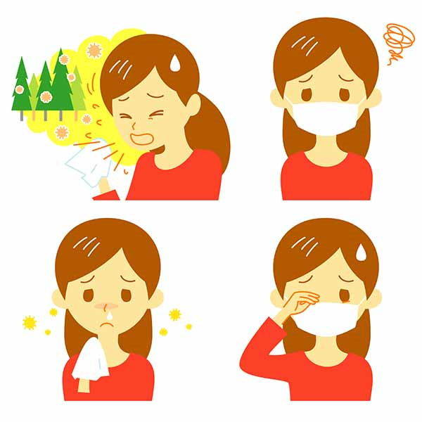 rinite sintomi