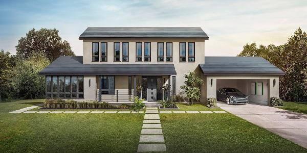 tesla tetto solare