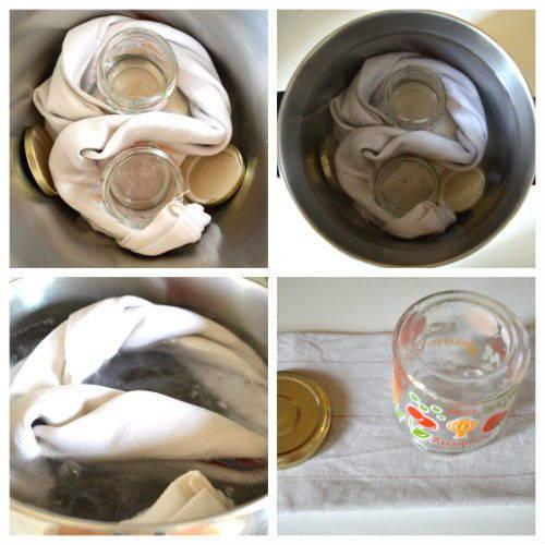come sterilizzare i barattoli per conserve ed omogeineizzati 1
