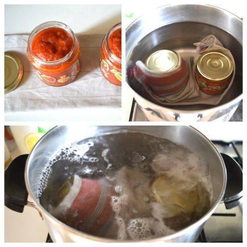 come sterilizzare i barattoli per conserve ed omogeineizzati 2