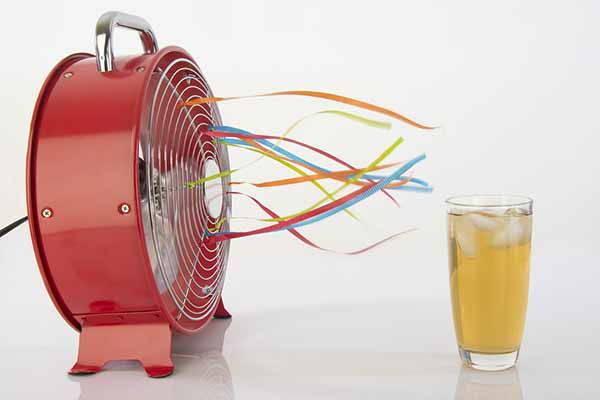 ghiaccio ventilatore