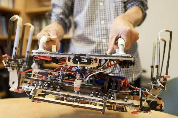 robot spaziodetriti