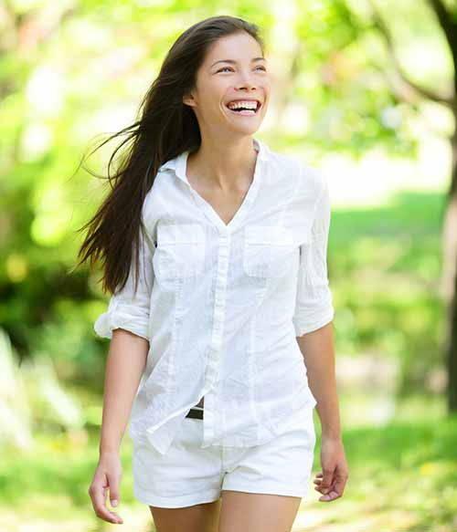 vestiti bianchi