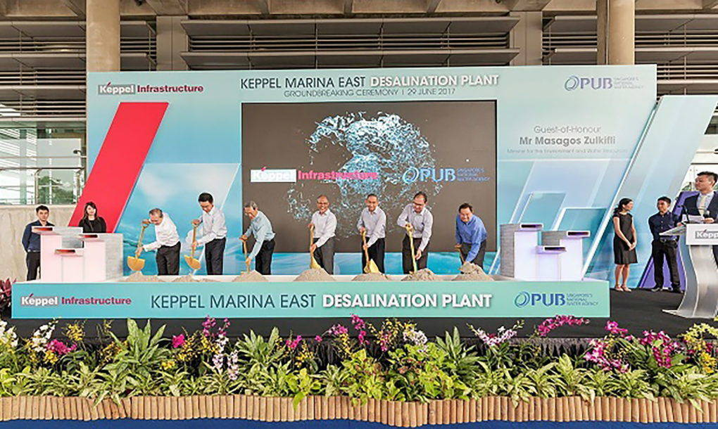 desalinizzazione singapore event