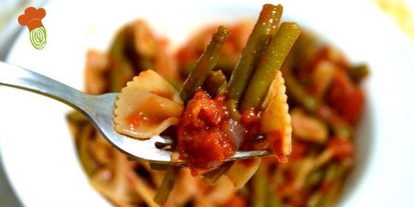 fagiolini con pasta integrale cover