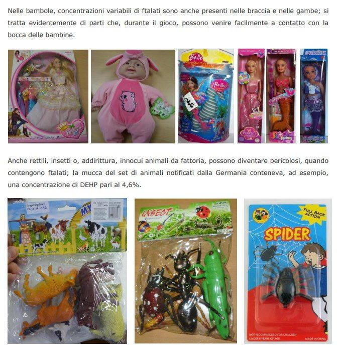 ftalati giocattoli