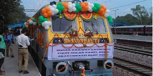 india treno solare