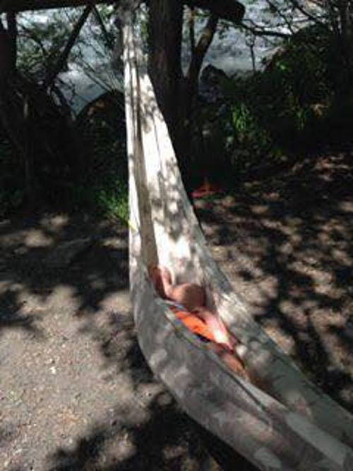 la frà romeo amaca nei boschi