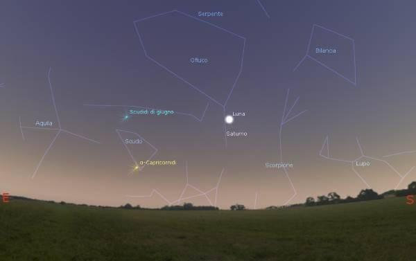 luna saturno mappa 6 luglio