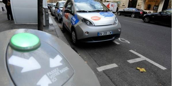 parigi auto elettriche