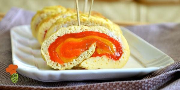 rotolo frittata con peperoni cover