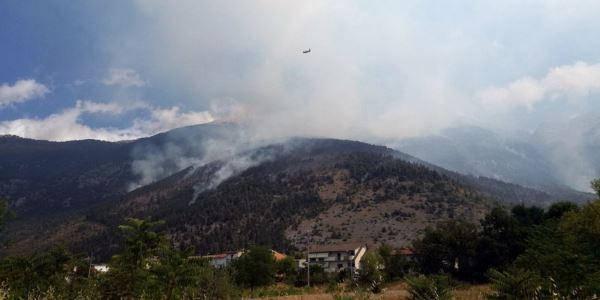 incendio monte Morrone