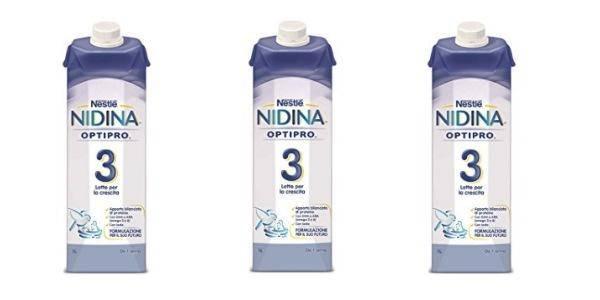 latte nestlè nidina