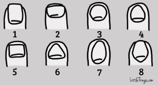 forma delle unghie1