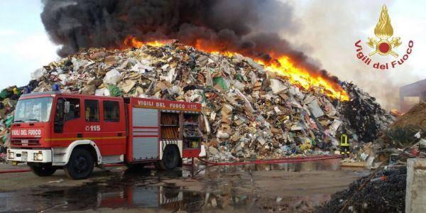 incendio Mortara