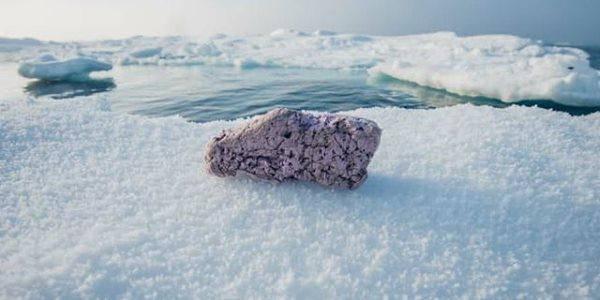 polistirolo nell'Artico