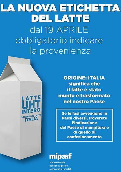 latte nuova etichetta