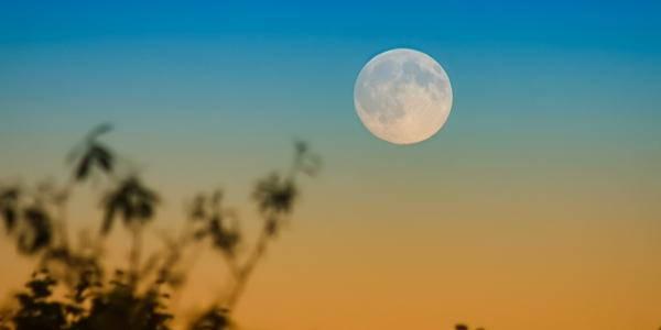 luna piena ottobre del raccolto
