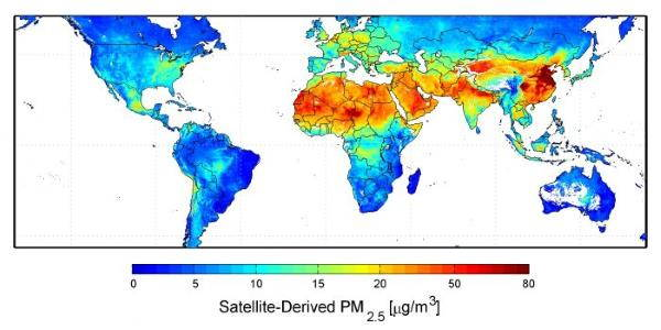 mappa pm2.5