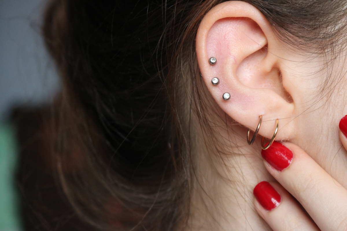orecchini piercing