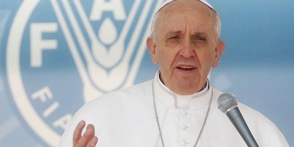Papa alla Fao