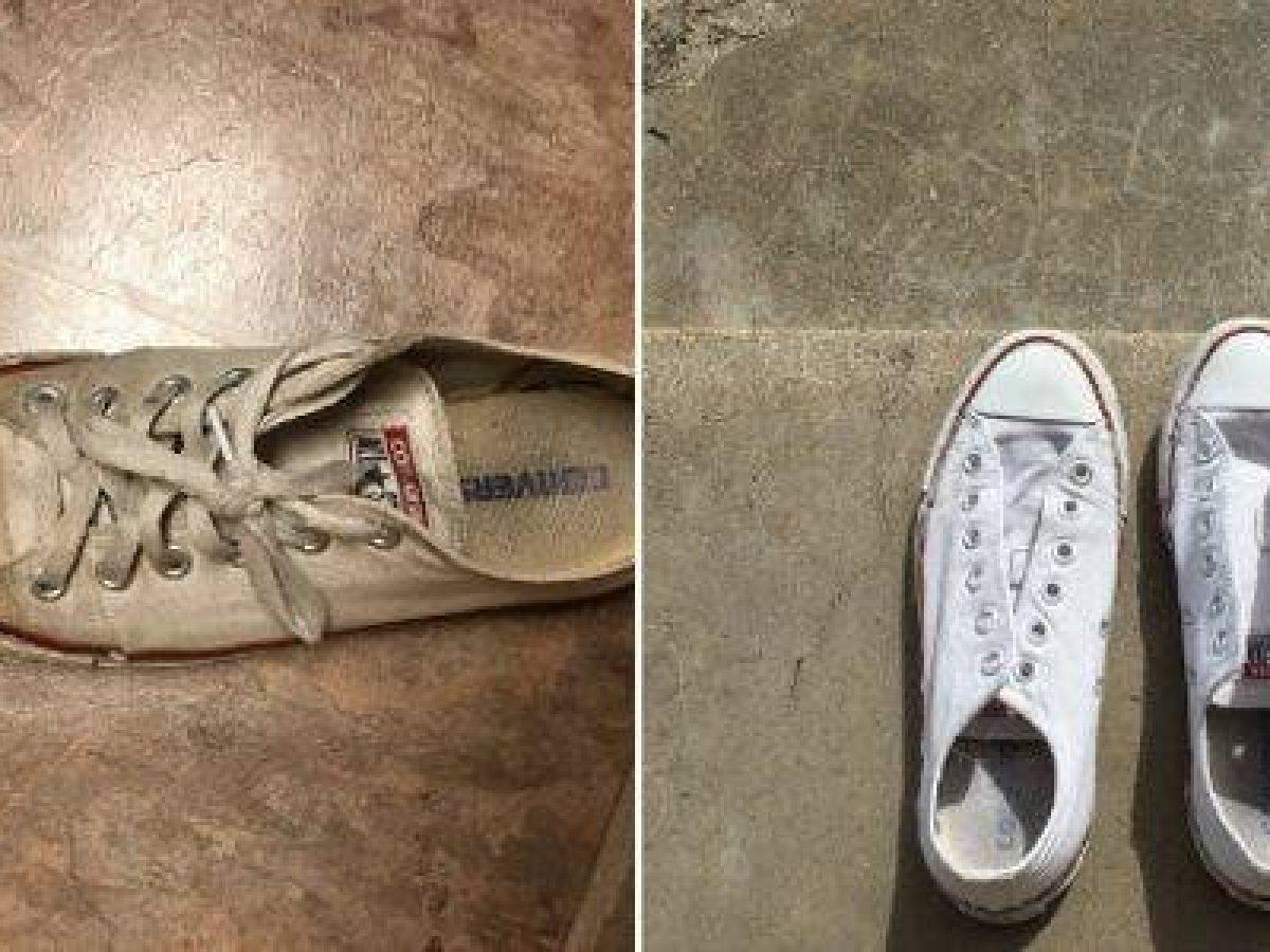 Come pulire le sneakers bianche senza candeggina GreenMe.it