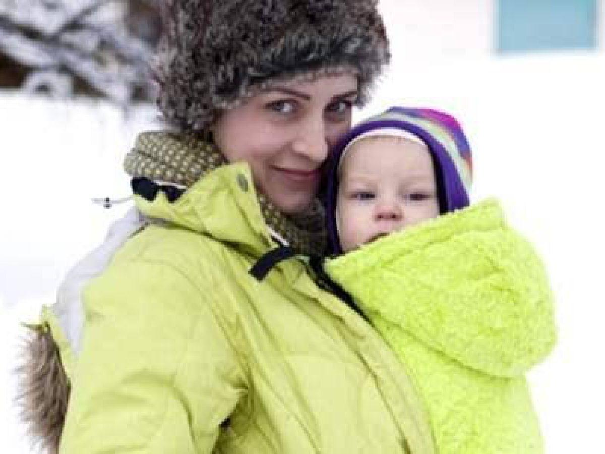 Felpa Porta Bebè: per Portare il Neonato nella Stagione Fredda