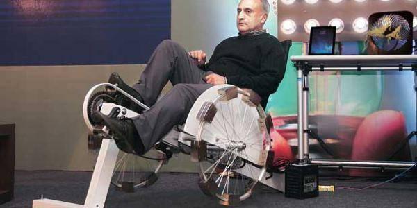 energia pulita dalla bici
