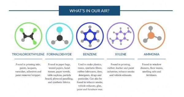 sostanze inquinanti domestiche