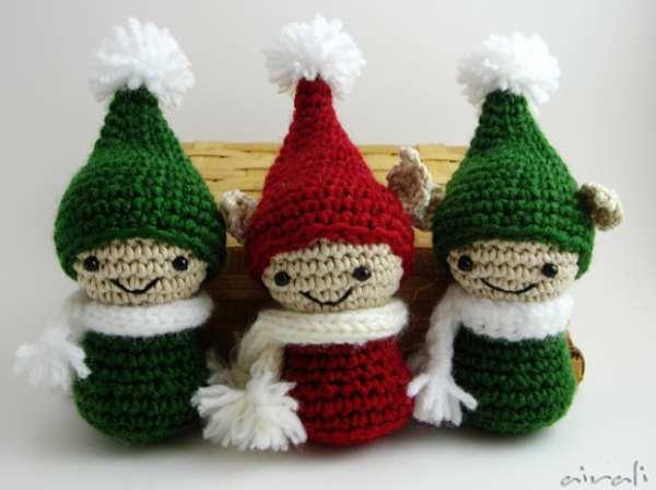 Albero e folletto natalizio amigurumi. Schema gratuito! - Airali   448x600