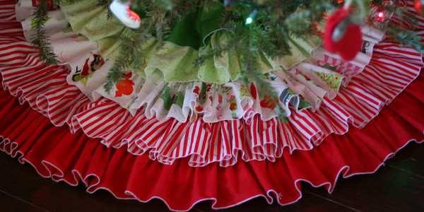 copri base albero di Natale