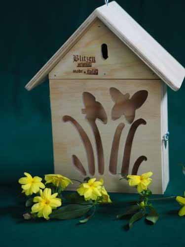 casetta nido farfalle