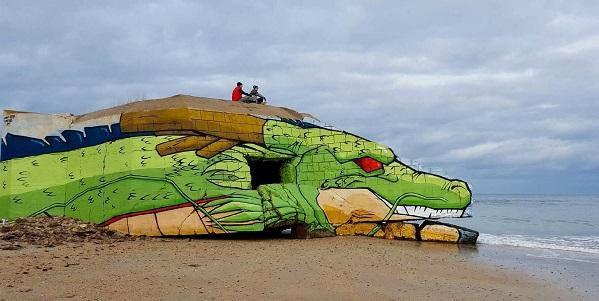 drago street art