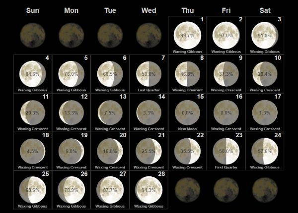 Calendario Lunare Parto 2020.Il Calendario Lunare 2018 Greenme It