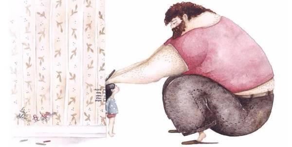 illustrazioni-papa-bambine